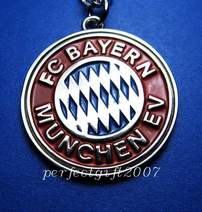 Bayern Munich Football FC Club Sports Colorful Necklace Pendant Free Chain