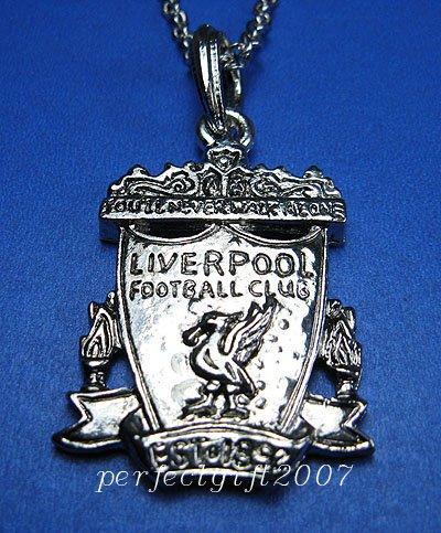 Liverpool Footbal FC Club Sports Unique Metal Necklace Pendant Free Chain