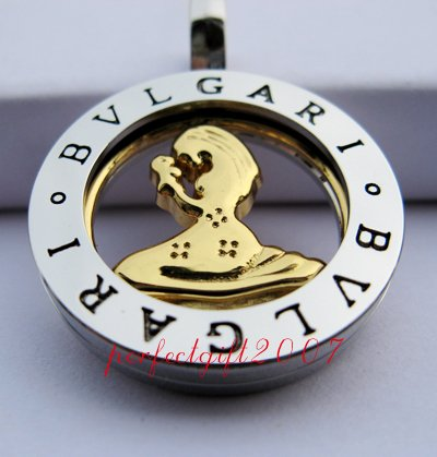 Virgo Horoscope Zodiac Steel Necklace Pendant