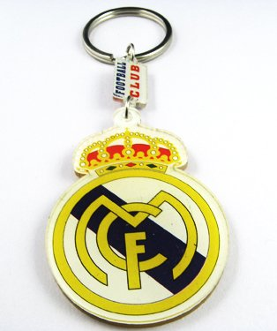 Real Madrid Football FC Sports Acrylic Key Chain Ring