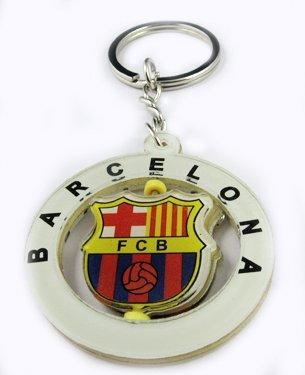 Barcelona Football FC Sport Rotatable Key Chain Keyring