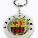 Barcelona Football FC Sport Rotatable Key Chain Keyring