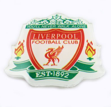 Liverpool Football Sports FC Acrylic Brooch Pin Badge