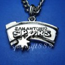 NBA  Metal Necklace Pendant San Antonio Spurs New