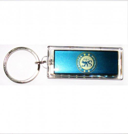 Chelsea  FC Club solar powered key chain keyring-LCD