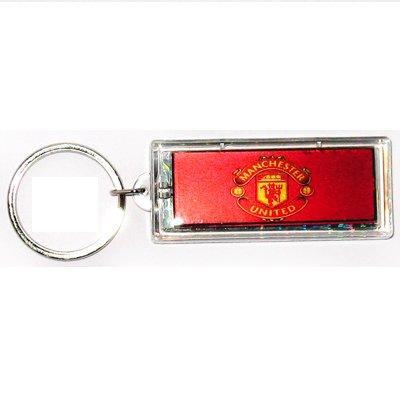 Manchester United FC Club solar powered key chain keyring-LCD