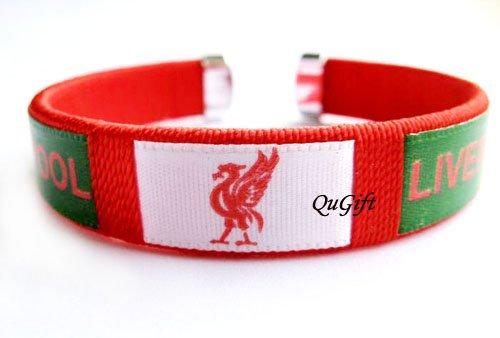 Liverpool FC Club Football Sport Colorful Adjustable Bangle Bracelet Wristband #2