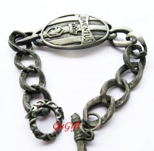 Juventus FC Club Football Sports Bangle Bracelet Metal Wristband