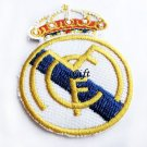 Real Madrid FC Club Football Sports Pin Badge Embroidery Patch