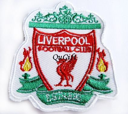 Liverpool FC Club Football Sports Pin Badge Embroidery Patch
