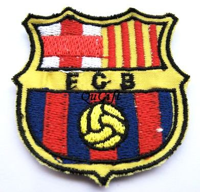 Barcelona FC Club Football Sports Pin Badge Embroidery Patch