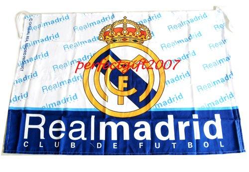 Real Madrid Football Club FC Soccer Official Team Flag
