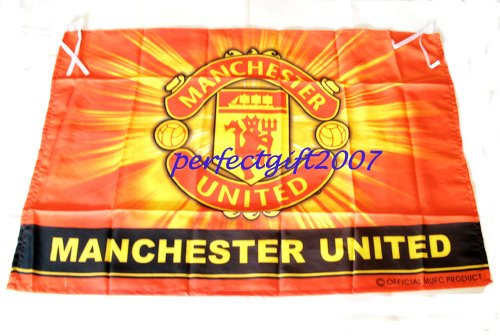 Manchester United Football Club FC Soccer Official Team Flag
