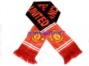 Manchester United Football FC Club Sports Flannel Shawl Scarf New