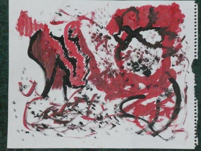 Print Painting # 9
