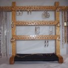 Jewelry Rack - Small Oak