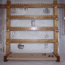 Jewelry Rack - Large Oak