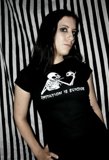 Imitation is Suicide T-shirt: Extra Large.f