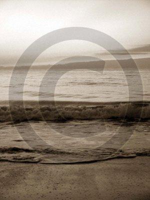 Shore Waves - 4002 - 11x17 Framed Photo