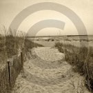 The Beach Awaits - 4005 - 11x17 Framed Photo