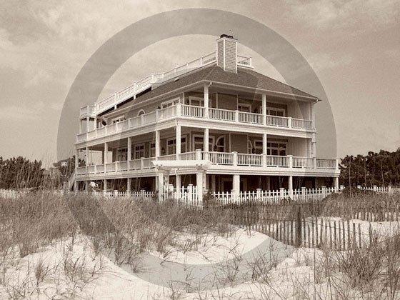 Beach House - 4017 - 8x10 Photo