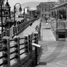 "River Walk - ""The George"" - 3001 - 11x17 Framed Photo"