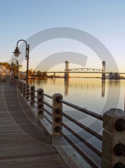 Fall on the Cape Fear River - 3020 - 11x17 Photo