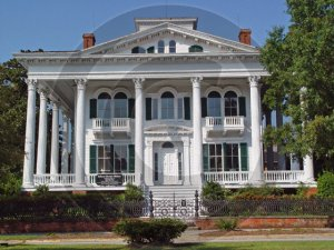 The Bellamy Mansion - 3047 - 11x17 Photo