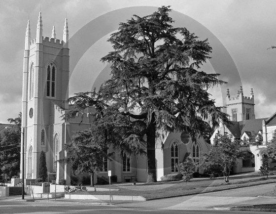 St. James Episcopal Church - 3067 - 11x17 Framed Photo