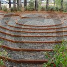 Labyrinth at the Hospice Care Center - 8029 - 11x17 Photo