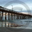 Topsail Island Pier - Topsail Beach - 1015 - 8x10 Framed Photo