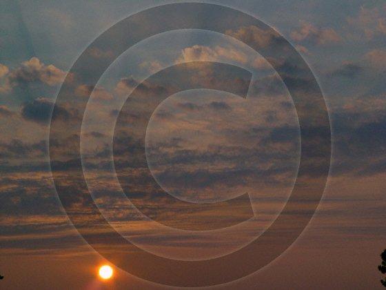September Sunrise - 1038 - 8x10 Photo