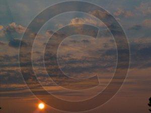 September Sunrise - 1038 - 11x17 Framed Photo