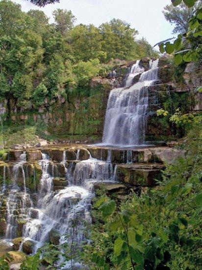 Chitnagno Falls - 7039 - 11x17 Framed Photo