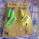 2 lot-Lil' Thunders Neon grn/ylw**FREE SHP**