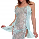 Lace front Chemise with matching panty
