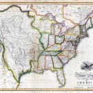 1818 Melish United States of America—Reproduction