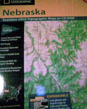 National Geographic Topo Map of Nebraska 5 CDs
