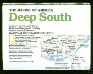 Deep South, The Making of America Map