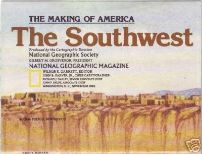 Southwest, The Making of America Map