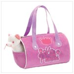 Cat Stuffed Toys With Carrier