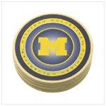 University of Michigan Absorbent Coasters