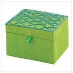 Sea-Green Jewelry Box