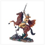 Viking Warrior on Horse