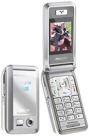 Philips - Unlocked Xenium TriBand GSM Cell Phone