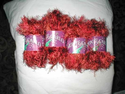1 ball of Darker coloured Monte Carlo yarn.  Lovely for knitting Teddies