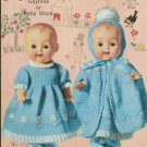 "Knitting pattern for Dolls outfits 10"" -14"" Robin 798 PDF"