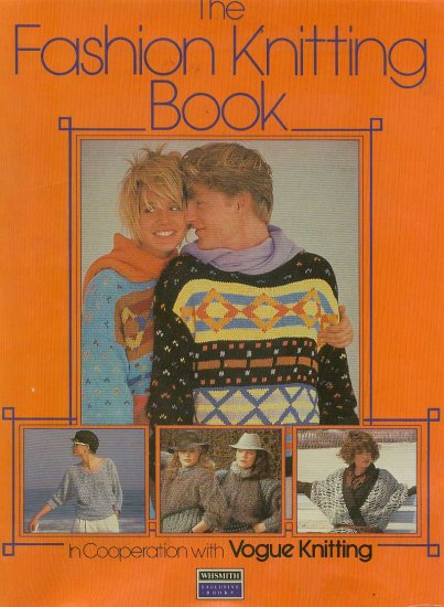 The Fashion Knitting book with Vogue knitting