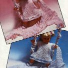 Knitting pattern to fit 16in dolls or reborns.Hayfield 00201 PDF