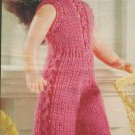 "Knitting pattern for 12"" dolls catsuit. From a magazine, PDF"